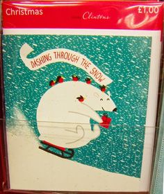 print & pattern: XMAS 2014 - clinton cards