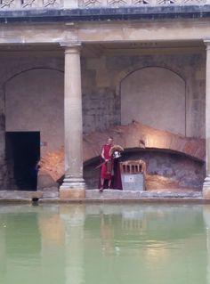 Roman Baths, Bath, Somerset, England, U.K.
