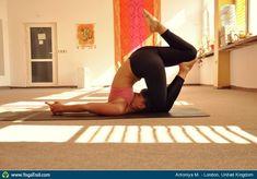 "Yoga Poses Around the World: ""Plow pose variation"""