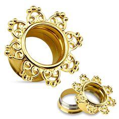 Ażurowy,+złoty+tunel+z+mandalą+-+tribal+hearts