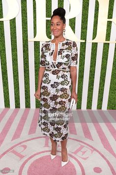 Actress Tracee Ellis Ross attends the 2015 BET Awards Debra Lee Pre-Dinner at Sunset Tower Hotel on June 24, 2015 in Los Angeles, California.  (Photo by Jason Kempin/BET/Getty Images for BET)