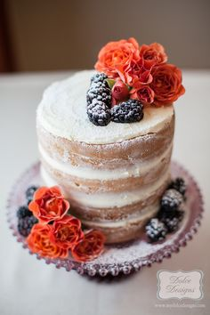 Naked Cake Tutorial - Dolce Designs