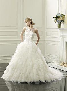 Princess Handkerchief Wedding Dress