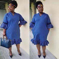 African Dresses Plus Size, Latest African Fashion Dresses, African Dresses For Women, African Print Fashion, African Attire, Sepedi Traditional Dresses, African Traditional Wear, African Traditional Wedding Dress, Traditional Fashion