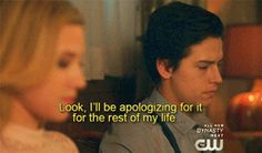 Would you like to see #Betty and #Jughead in their prelude to the act of making love? Your answer? Unequivocally, YES! Part 1 is here:  #riverdale  #Cole_sprouse  #lili_reinhardt   #jughead #betty_cooper
