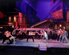 """Assistant Scenic Design for """"West Side Story"""" on Behance"""