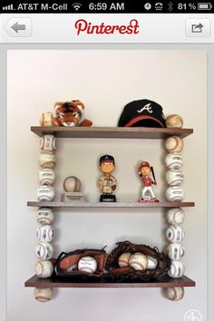 Adorable for a baby boy nursery, change the team to Giants of course. :)