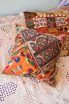 Patchwork Cushion Cover Homewares by Treeoflife