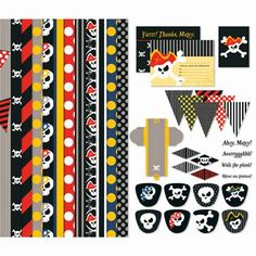Stampin' Up! My Digital Studio MDS Pirate Party Kit