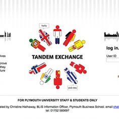 Tandem Exchange for Learning Languages website.