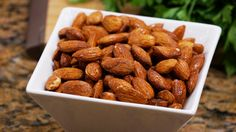 Nosh on these tasty tamari almonds!  http://www.jazzyvegetarian.com/products-group-124.html