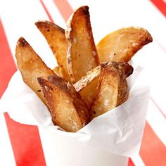 Indulge guilt-free with this healthy French fries recipe. - Fitnessmagazine.com