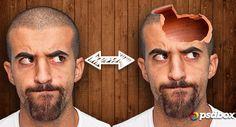 Efecto Cabeza Hueca en Photoshop | Tutoriales Photoshop en Español