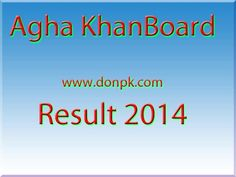online 9th 10th Class result 2014 bise Agha khan board