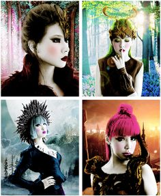 2NE1- let's face it, these pictures are mad awesome!