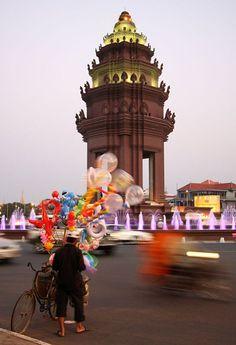 Cambodia - Phnom Penh Daily life