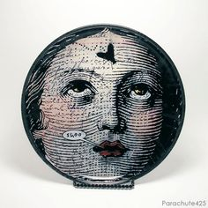 Shoo Fly Decoupage Glass Plate from Parachute425