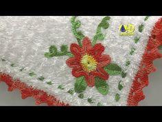 Vida com Arte | Tapete Flores em Crochê por Maria José - 06 de Julho de ...