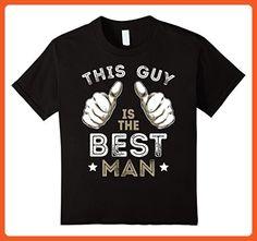 Kids Men's This Guy Is The Best Man Tshirt Bachelor Party Wedding 6 Black - Wedding shirts (*Partner-Link)