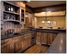 Rustic Alder Wood Kitchen Cabinets Cabinet : Home Design