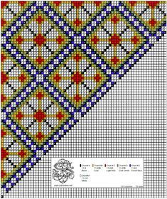 Bringekluter på stramei. – Vevstua Bull-Sveen Cross Stitch Designs, Cross Stitch Patterns, Palestinian Embroidery, Bead Crochet Rope, Chart Design, Candy Gifts, Loom Beading, Cross Stitch Embroidery, Needlepoint