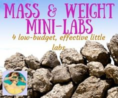 Mass and Weight Mini Labs