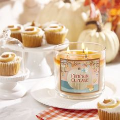 Have your cake ... & pumpkin Candles, too!