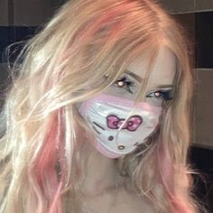 Edgy Makeup, Grunge Makeup, Cute Makeup, Makeup Looks, Aesthetic Hair, Bad Girl Aesthetic, Hair Inspo, Hair Inspiration, Swagg Girl