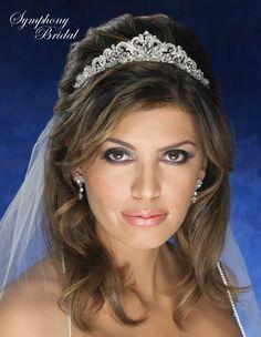 Symphony Bridal 4802CR Crystal Wedding Tiara - beautiful!