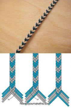 手链的编结...来自Eli_Oswin的图片分享-堆糖网