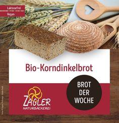 🌾BIO-Korndinkelbrot🌾 Die Dinkelsorte Oberkulmer Rotkorn ist eine äußerst ursprüngliche Dinkelsorte ohne züchterische Weizeneinkreuzungen. Wir vermahlen das gesamte Korn in der hauseigenen Zentrofanmühle und setzen unseren eigenen Dinkelvollkornsauer an.  Vollkorndinkel in Vollendung! #zagler#zaglernaturbäckerei#bäckereizagler#bäcker#bäckerei#naturbäckerei#brot#frischesbrot#korndinkelbrot#dinkelbrot#biobrot#laktosefreiesbrot#laktosefrei#vegan#veganesbrot Place Cards, Place Card Holders, Vegan, Vegans