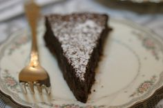 Intense Chocolate Mousse Cake by Nigella Lawson