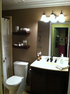 Has nothing to do with my room but we could totally do this to our restroom!