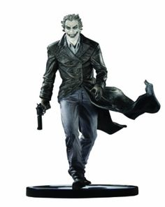 *DC Direct Batman Black and White Statue: The Joker by Lee Bermejo Price & Reviews by Scott D. Tate