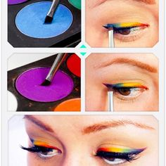 It's stuff like this that makes me miss doing makeup. So pretty!