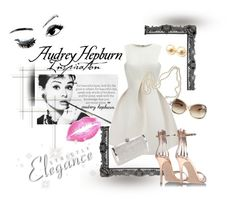 """""""Oh! Audrey!"""" by majorisshoes on Polyvore featuring Tom Ford, Bardot, Chanel and Gianvito Rossi"""
