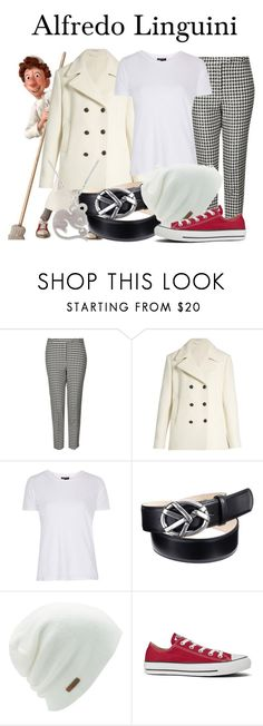 """Alfredo Linguini"" by megan-vanwinkle ❤ liked on Polyvore featuring Topshop, Tomas Maier, Coal, Converse and NOVICA"
