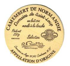 AOC CAMEMBERT DE NORMANDIE ST LOUP