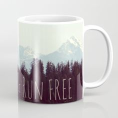 Available in 11 and 15 ounce sizes, our premium ceramic coffee mugs  feature wrap-around art and large handles for easy gripping. Dishwasher and microwave safe, these cool coffee mugs will be your new favorite way to consume hot or cold beverages.  photography by Devin & Lisa Horoszewski   https://society6.com/product/wild-free-mountain-landscape-nature-photograph_carry-all-pouch#s6-6336170p51a67v445  #boho #wildandfree #naturephotography #forest #mountains