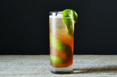 Singapore Sling, a recipe on Food52
