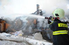 House Fire -  Fireman