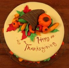 Thanksgiving cakes - Google Search