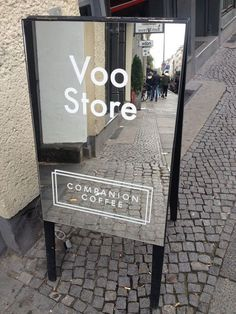 15 Super Ideas For Exterior Signage Design Window Store Signage, Retail Signage, Wayfinding Signage, Signage Design, Cafe Design, Store Design, Display Design, Booth Design, Design Design