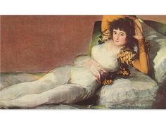 The Maja Clothed, by Goya - an Original 1954 Frameable Art Print