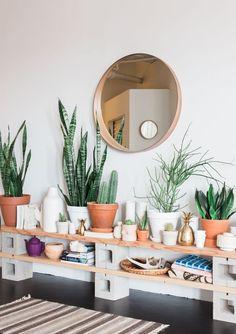 home decor plants 25 Bohemian Home Deco - Chicago Lofts, Green Interior Design, Interior Plants, Diy Interior, Scandinavian Interior, Interior Architecture, Sweet Home, Diy Casa, Easy Home Decor