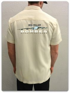 MEN'S AIRPLANE SHIRT-B-52 Bomber Stratofortress-The B-52 Stratofortress had its maiden flight in April 1952 and was a symbol of the Cold War. This iconic war machine continues to be a major player in the United States Air Force.