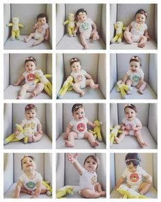 Baby monthly photos Newborn Pictures, Baby Pictures, 1 Month Old Baby, Book Bebe, Milestone Pictures, Monthly Baby Photos, Baby Shots, Foto Baby, Personalized Baby Blankets
