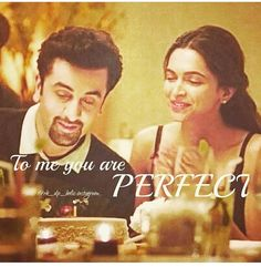 beautiful couple ever Movie Love Quotes, Best Quotes, Perfect Couple, Beautiful Couple, Tamasha Movie, Adorable Quotes, Bollywood Quotes, Remember Quotes, Ranbir Kapoor
