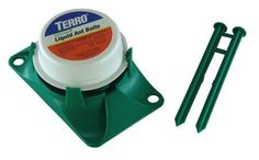 TERRO Outdoor Liquid Ant Bait - 2-Pack by Terro. $7.99. For Use In And Around: Homes, Hospitals, Restaurants, Grocery Stores, Schools, Cafeterias, Storage Areas, And Food Processing Plants. Pre-Filled & Ready-To-Use! - Included Stakes Hold Securely To Ground. Kills All Common Household Ants. Invading Ants Often Have Outdoor Nesting Sights. Includes 2 Liquid Ant Baits. FOR USE IN AND AROUND: Homes, Hospitals, Restaurants, Grocery Stores, Schools, Cafeterias, Storage Area...