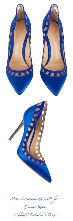 Gianvito Rossi 'Adelaide Embellished Pumps